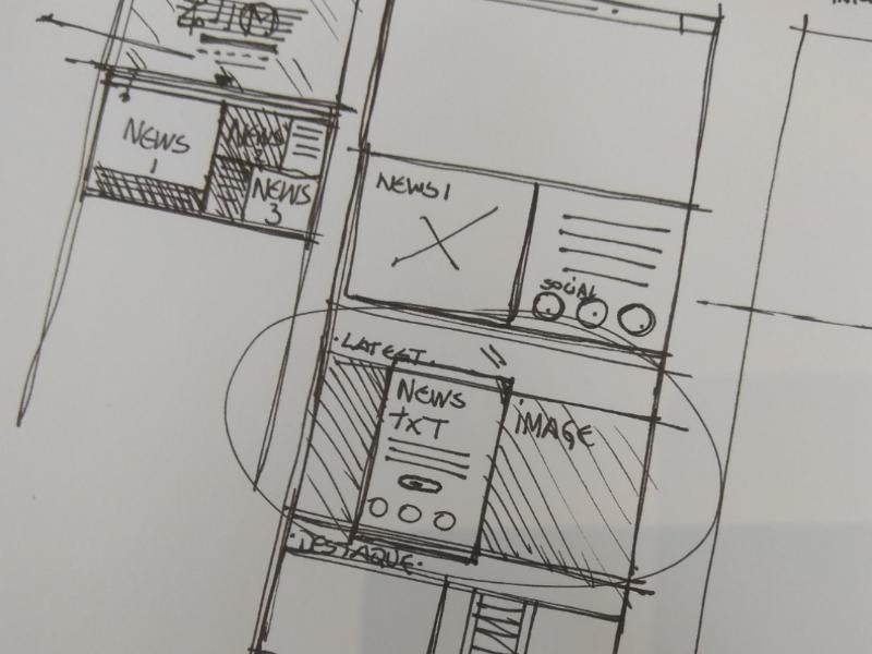 Homepage draft draft webdesign uxdesign uidesign