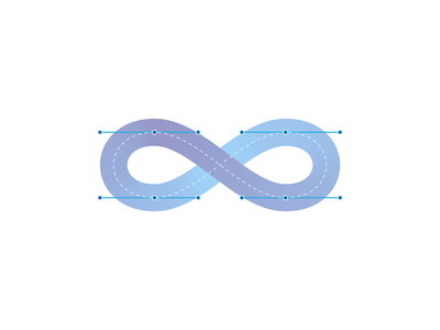 Infinity blueprint gradient smooth blueprint infinity