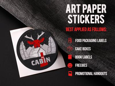 Art Paper Stickers