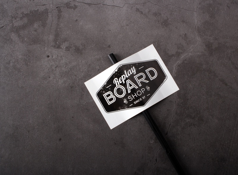 Custom Brand Stickers sticker design branding