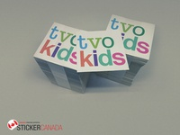 customised stickers printing
