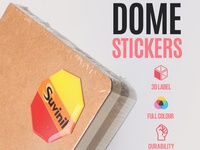 Dome Stickers