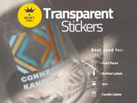 Custom Transparent Stickers