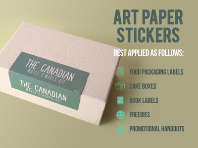Art Paper Stickers