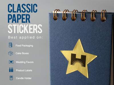 Classic Paper Stickers