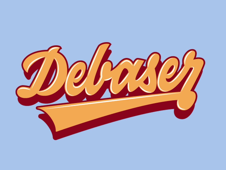 Dabeser illustration design vector letters lettering art lettering artist lettering