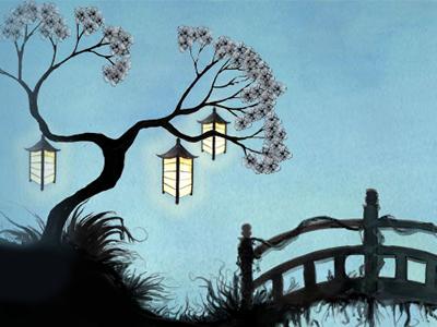 Japanese Garden By Richie Hatton