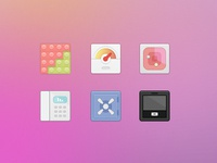 product feature icon set