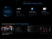 HTC Diamond (Personal Project)