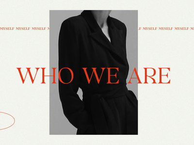 Who We Are photography layout design graphic graphic design photoshop branding typogaphy design