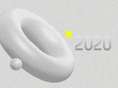 No 2020 branding layout design designs graphic design graphic typography 3d photoshop design