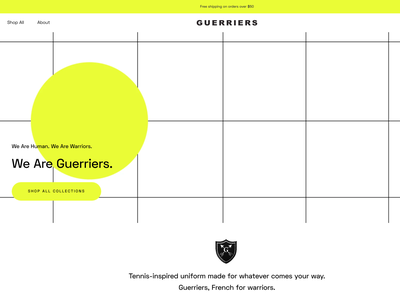 Guerriers website design website designer 3d brand direction creative direction graphic branding concept brand identity brand design branding graphic design design