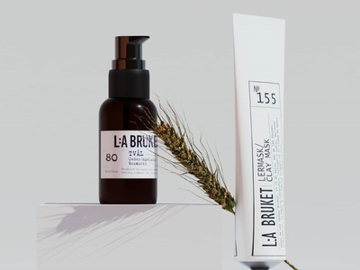 La Bruke brand identity product design product 3d artist 3d art graphic graphic design 3d branding photoshop design
