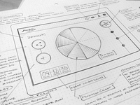 iPad App Concept - Sketch