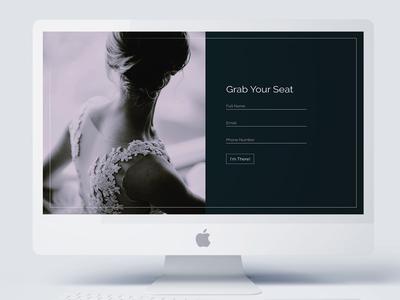 Design Pattern: Register or Sign Up Form minimal square clean dark wedding register sign in sign up ux ui