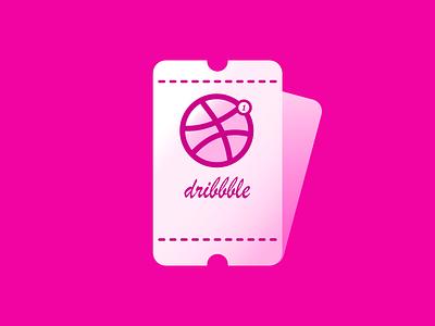 Invitation dribbble invite madewithaffinty vector flat affinitydesigner adobe illustrator cc design dribbble illustration