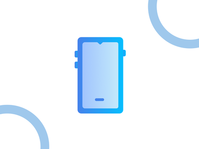 Smartphone landscape iconography madewithaffinty affinitydesigner adobe illustrator cc design dribbble illustration