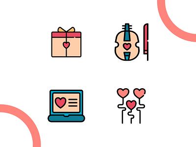 Love icon madewithaffinty iconography vector affinitydesigner adobe illustrator cc design dribbble illustration