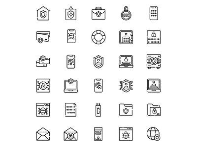 Internet Security Icon icon flat branding iconography vector affinitydesigner adobe illustrator cc design dribbble illustration