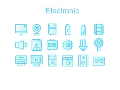 Electronic Iconset