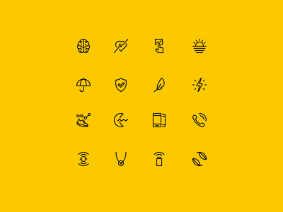 Amazfit Icons stroke simple line fitness tracking fitness 2px icons icon