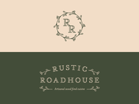 Rustic Roadhouse Branding