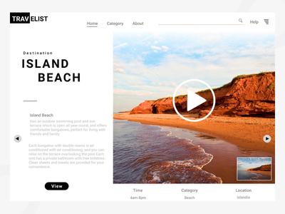 Web Design Travel