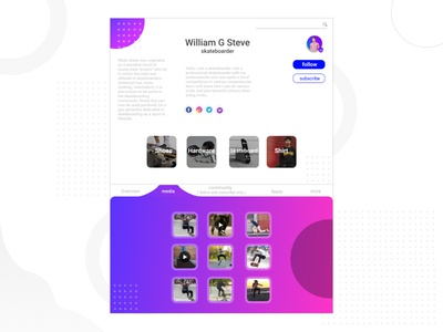 Web Design Marketplace skateboard