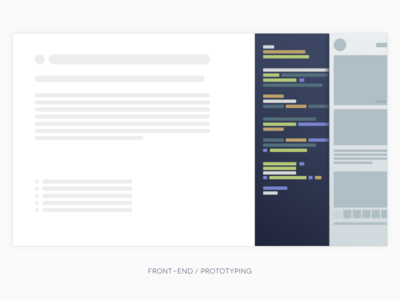 front-end / prototyping