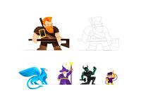 ZAG ZAG Characters