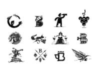 LogoLounge 11 Article sketch