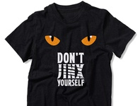 Don t Jinx Yourself - T Shirt Design