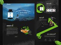 HerbalCart Website UI