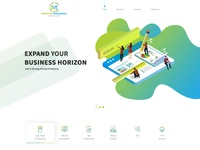 MMC Project - Website layout design