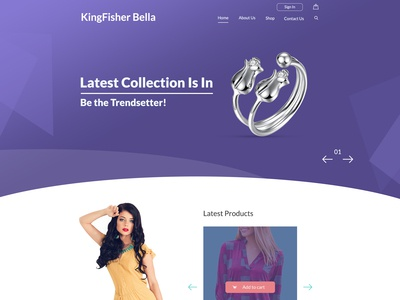 Kingfisher Project - Web Design