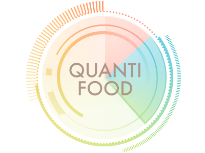 Quantifood logo technology icon personal informatics