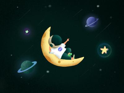 Astronaut series-4