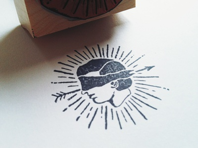 Stamp! stamp rubber logo icon branding ink