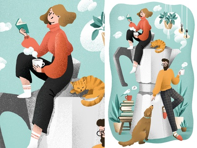 Illustration for calendar