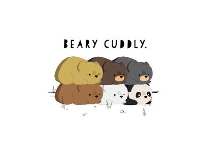 BEARY CUDDLY.