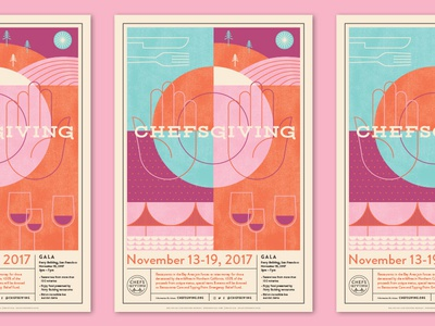 Chefsgiving hands plate fundraiser gala ferry building dinner san francisco cheese thanksgivings wine napa chefsgiving