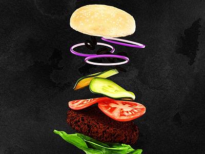 Food attire illustration branding artwork color flat art 3d 3d art 3dsmax 3d artist 3d animation 36 days of type