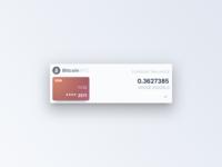 Crypto Card Detail