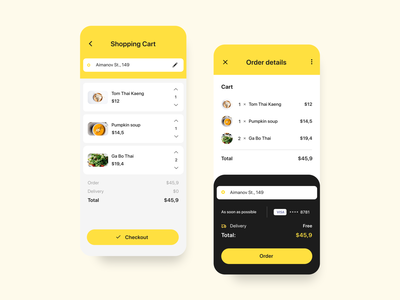 Food Delivery App shopping desigh order app ios food app food ux ui