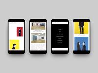 Concept #1 / Djamel Tatah website (2018)