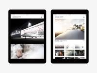 Concept #2 / Adrien Daste website (2018)