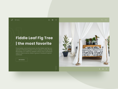 Flower ecommerce website