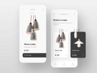 Lamps e-commerce app