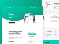 Fundr Landing Page