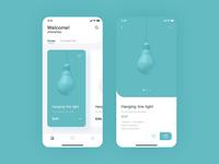 Lamp interface